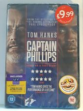 Captain Phillips -TomHanks[ DVD ] BRAND NEW & FACTORY SEALED, Free Post from NSW