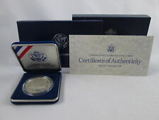1987 S United States Constitution Commemorative Coin Proof Silver Dollar