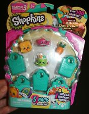 Shopkins Season 3 New in Package 5 Pack of Shopkins  over 140 to collect