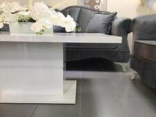 Couchtisch hochglanz weiß | Wohnzimmertisch | Beistell | NEU | 120x70