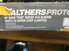 #2 Walther Proto 920-9012  85' Budd Pine series 10-6 sleeper  ATSF super chief