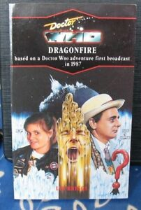 Doctor Who - Dragonfire. Nr mint, blue spine edn. Target Books. % to charity do!