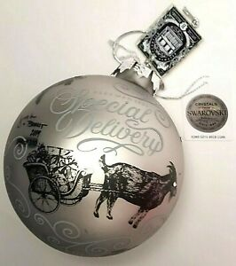 2019 Beekman 1802 Ornament w SWAROSKI Crystals Special Delivery Forest Animals