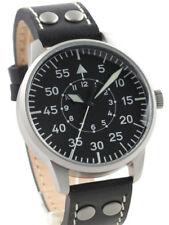 Watch Mens Laco Freiburg 861791 Black Leather