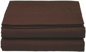 1500 Collection Single Flat Sheet / Top Sheet - Available in 12 Colors All Sizes
