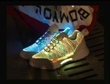 Size 25-46 Children's Lighted Shoes Kids Glowing LED Sneakers With Luminous Sole