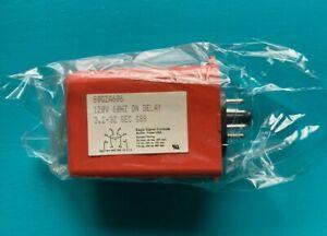 Eagle Signal 80Q2A606 Time Delay Relay - 3.2-32 sec - 120V - On Delay- N.O.S.