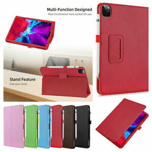 For iPad Pro 2020/2021 5th Generation 12.9 inch Case PU Leather Stand Cover