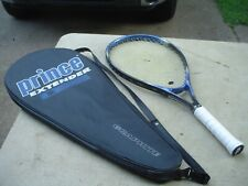 Prince Graphite Extender Tennis Racquet 4 1/4 w Pro Overwrap and Full Case