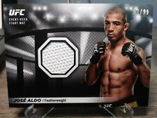 2018 Topps UFC Knockout Fight Mat Relic #FMRJA Jose Aldo 52/99 WHITE RARE MMA