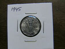 Canada 5 cents 1945 XF condition