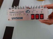 50W Dual Band Vhf&Uhf Power Rf Amplifier Linear only use Fm Dhl/Fedex/Ups