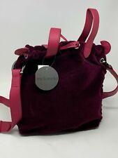 Meli Melo Bag Bordeaux Satchel Velvet New MSRP $515