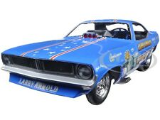 LARRY ARNOLD'S KING FISH 1970's PLYMOUTH CUDA FUNNY CAR 1/18 BY AUTOWORLD AW1173
