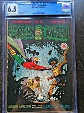GREEN LANTERN COMICS #16 CGC FN+ 6.5; OW-W; rare! classic cvr!