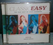 VARIOUS ARTISTS - CLASSIC EASY VOCAL - THE VERY BEST OF EASY LISTENING CD ALBUM