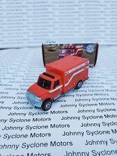 MATCHBOX INTERNATIONAL TERRASTAR AMBULANCE EMERGENCY VEHICLE RED IN BOX