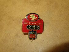 SPILLA PIN SAN FRANCISCO 49ERS Officially Licensed by NFL football rugby SF dei