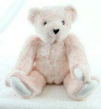 Authentic Vermont Teddy Bear Pink Jointed Arms and legs