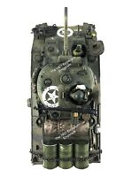 1:32 21st Century Toys WWII US Army M4 Sherman Tank  - NSG Custom Works Repaint