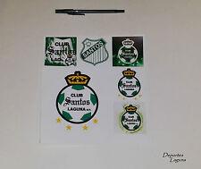 Club Santos Laguna Set Of 6- Stickers (6 Calcomanias) *Buy 2, Get 1 Free!*
