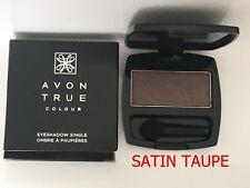 Avon True Colour Eye shadow single True Colour ~ SATIN TAUPE~ NEW FREE POSTAGE