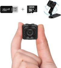 Wireless Mini Spy Camera Cam 1080P Hidden W 32Gb Sd Card No Wifi Needed Nanny Au