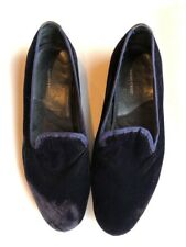 TANINO CRISCI ITALY Men's Smoking Slipper Loafer Rare Navy Velvet 11