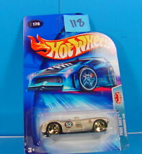 #118 HOT WHEELS 2004 PRIDE RIDES #176 SILVER/RED CUNNINGHAM C4R #176 NEW ON CARD