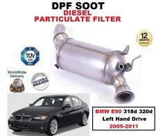 DPF Diesel fuliggine Filtro del Particolato per BMW 318d 320d E90 2005-2011 SINISTRO H Drive