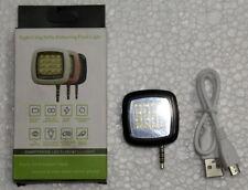 Universal Portable 16 LED Selfie Enhancing Flash Fill in Light Torch 3.5mm Jack