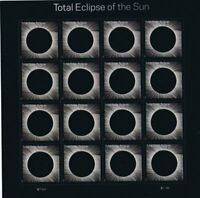 2017 USPS Total Eclipse of the Sun Sheet of 16 Stamps New w/ case