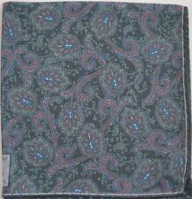 Authentic ROBERT TALBOTT Wool Blend Pocket Square Handkerchief