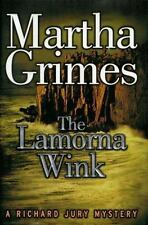 Martha Grimes~THE LAMORNA WINK~SIGNED 1ST/DJ~NICE COPY