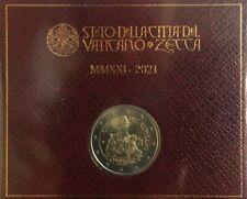 2 EURO VATICANO 2021 - 450° NASCITA CARAVAGGIO