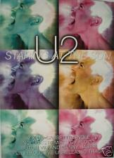 """U2 """"Staring At The Sun"""" U.K. Promo Poster-Out Of Print!"""