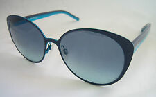TOMMY HILFIGER SUNGLASSES CAT EYE BLUE DARK GREY LENS TH1119 4NRX2 BNWT
