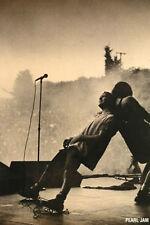 Pearl Jam Eddie Vedder Live On Stage Music Art Poster Print 40X55 (101X140cm)