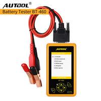 AUTOOL BT460 car battery load tester Battery Analyzer for 12V Cars & 24V Trucks