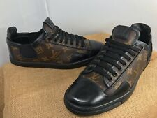 AUTH LOUIS VUITTON MENS LV MONOGRAM SNEAKERS TRAINERS 6 LV US 7 MADE IN ITALY