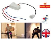 360 Degree Recessed PIR Sensor Detector Ceiling Occupancy Motion Light Switch UK
