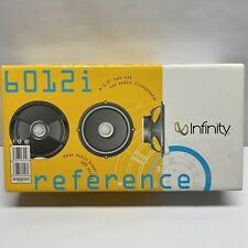 """Infinity Reference 6012i Car Audio Stereo Speakers 6-1/2"""" 2-way"""