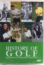 HISTORY OF GOLF Presented by Bernard Gallacher DVD Golf Greats FAST POST