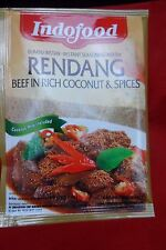 IndoFood - Rendang Beef in Rich Coconut and Spices - Free Postage - 60 gram