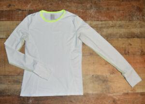 Lucky In Love Long Sleeve Tennis Golf Top Shirt Women Small (4-6) Stretch EUC