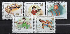 El Salvador : 1988 Olympic Games Seoul 88 and Barcelona 92 New ( MNH )