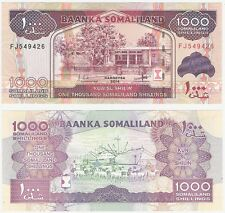Somalilandia 1000 chelines 2014 P-20c UNC Uncirculated banknote Puerto Barco