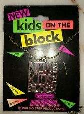 NEW KIDS ON THE BLOCK Official ©1990 Necklace Big Step Productions