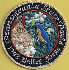 "Pa Pennsylvania Fish Game Commission NEW 1993 4"" Valley Forge State Park Patch"