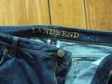 Lands End Womens stretch denim jeans size 16